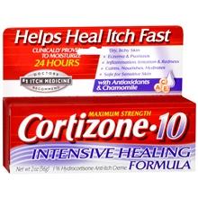 Cortizone 10® Intensive Healing Anti-Itch Crème - 2 oz : Target